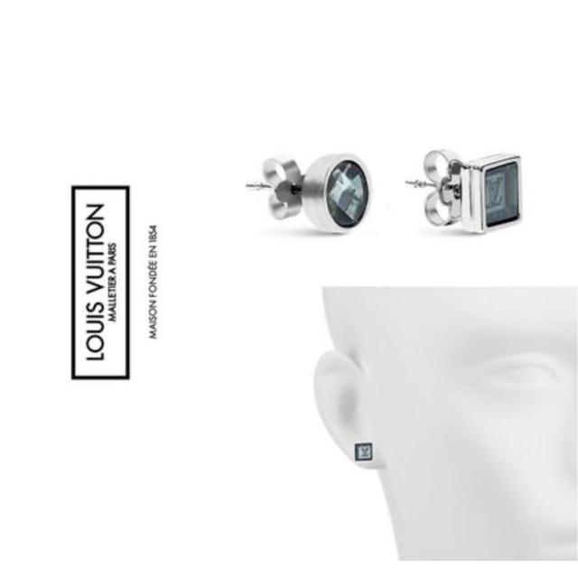 LOUIS VUITTON(ルイヴィトン)のルイヴィトン メンズ ピアス モノグラム シトラス メンズのアクセサリー(ピアス(両耳用))の商品写真