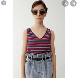 マウジー(moussy)のボーダーカットソー(Tシャツ/カットソー(半袖/袖なし))