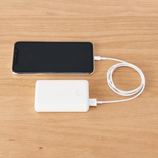 ムジルシリョウヒン(MUJI (無印良品))の新品★ 無印良品 ★ USB用モバイルバッテリー   充電器 10000mAh⁑(バッテリー/充電器)