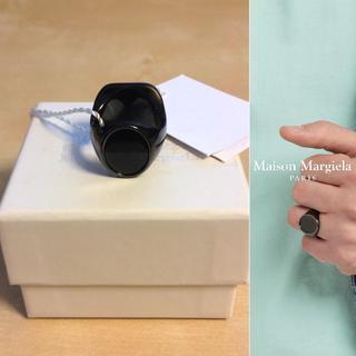 マルタンマルジェラ(Maison Martin Margiela)の新品■S■定価 8.2万■19ss マルジェラ■リバーシブルリング■9097(リング(指輪))