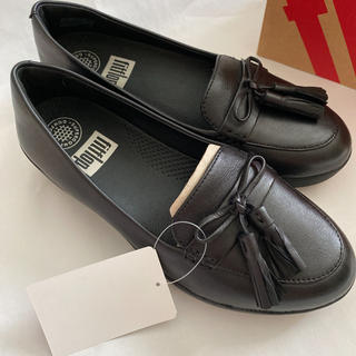 フィットフロップ(fitflop)のフィットフロップTASSEL BOW SNEAKERLOAFER(23~23.5(ローファー/革靴)