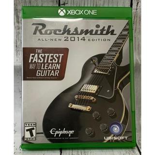 エックスボックス(Xbox)のRocksmith ALL-NEW 2014 EDITION XBOX ONE(家庭用ゲームソフト)