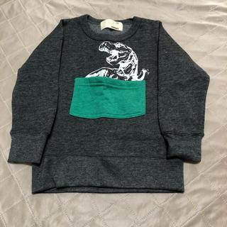 シスキー(ShISKY)の未使用【100】恐竜トレーナー①(Tシャツ/カットソー)