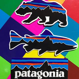 パタゴニア(patagonia)の★最新作★新品未使用 パタゴニア フィッツロイ柄ステッカー 3枚セット ベア(その他)