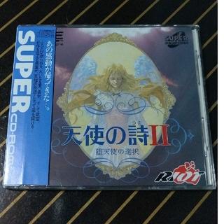 エヌイーシー(NEC)の[美品]天使の詩2 PCエンジン スーパーCDROM(家庭用ゲームソフト)