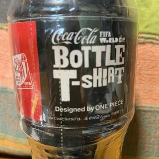 コカコーラ(コカ・コーラ)のコカコーラ ONE PIECE 2010FIFA ボトルTシャツ 非売品(ノベルティグッズ)