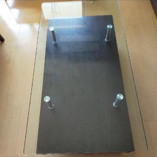 ニトリ(ニトリ)の【あいう様専用】【送料込】センターテーブル(スプレンダー3 120セット DBR(ローテーブル)