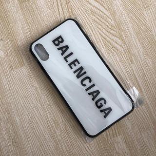 バレンシアガ(Balenciaga)のiPhoneXケース 値下げしました(iPhoneケース)