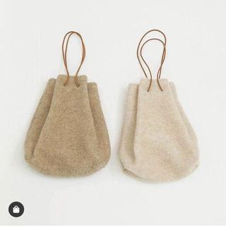トゥデイフル(TODAYFUL)の新品タグ付き Wool Pile Purse(ハンドバッグ)