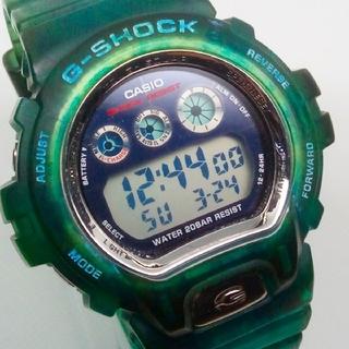 ジーショック(G-SHOCK)のタフソーラー G-7210カスタム GL-220ブルースケルトン仕様(腕時計(デジタル))