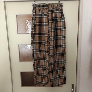 ディーホリック(dholic)のバーバリー タータン  韓国ファッション (スラックス)