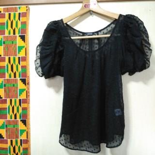 ルシェルブルー(LE CIEL BLEU)のルシェルブルーのブラウスLサイズ(シャツ/ブラウス(半袖/袖なし))