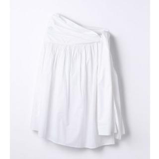 ロンハーマン(Ron Herman)のMerlette  ホワイトスカート(ひざ丈スカート)