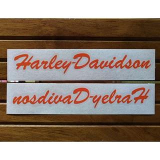 ハーレーダビッドソン(Harley Davidson)のHarley-davidson ハーレーダビッドソン タンク ステッカー・小(ステッカー)