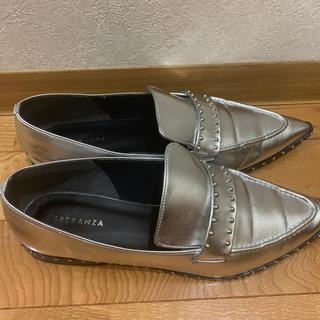 エスペランサ(ESPERANZA)のESPERANZA メタリックローファー(ローファー/革靴)