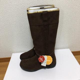 新品未使用 Repel 防水 スエード調 ロングブーツ Sサイズ(ブーツ)