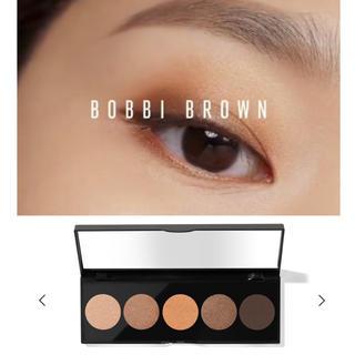 ボビイブラウン(BOBBI BROWN)のボビィブラウン ヌードアイシャドウパレット ブラウンオレンジ系(アイシャドウ)