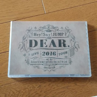 Hey! Say! JUMP - Hey!Say!JUMP LIVE TOUR 2016 DEAR. DVD