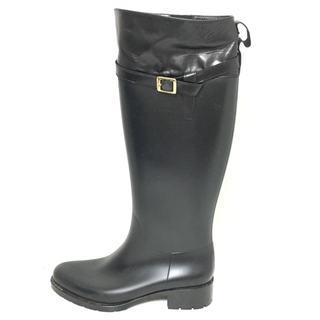 ファビオルスコーニ(FABIO RUSCONI)のファビオルスコーニ レインブーツ 38 黒(レインブーツ/長靴)