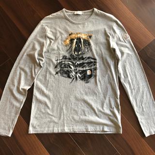 モンクレール(MONCLER)のモンクレール MONCLER ロンティー Tシャツ 長袖(Tシャツ/カットソー(七分/長袖))