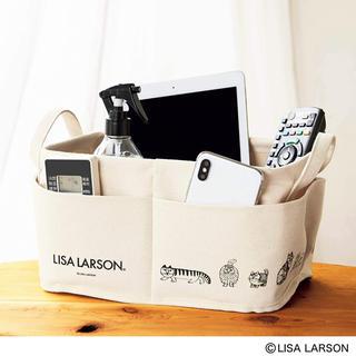 リサラーソン(Lisa Larson)のinred 9月号 付録 リサ・ラーソン 外ポケット付き収納ボックス ☆新品(小物入れ)