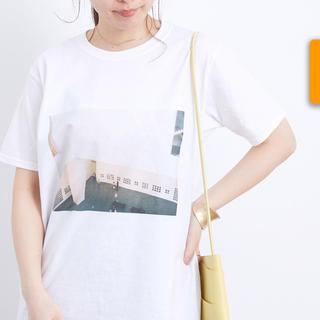 アダムエロぺ(Adam et Rope')のアダムエロペ*フォトTシャツ(Tシャツ(半袖/袖なし))