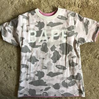 A BATHING APE - A BATHIMG APE リバーシブル 半袖Tシャツ 150cm