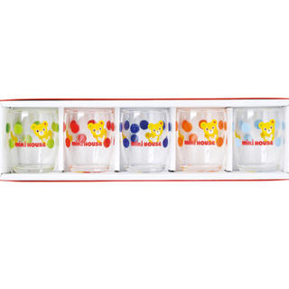 ミキハウス(mikihouse)のミキハウス ミニグラスセット(グラス/カップ)