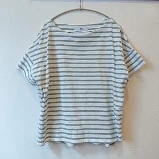 サニーレーベル(Sonny Label)のワイドボーダーTシャツ(Tシャツ(半袖/袖なし))