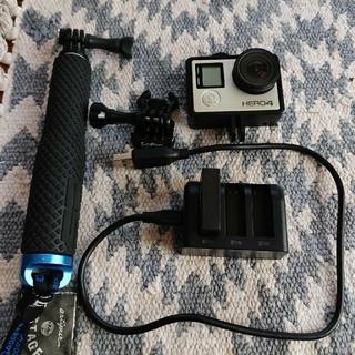 ゴープロ(GoPro)のGoPro HERO4 ゴープロ シルバーエディション(コンパクトデジタルカメラ)