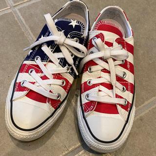 コンバース(CONVERSE)のコンバースアメリカ国旗柄(スニーカー)
