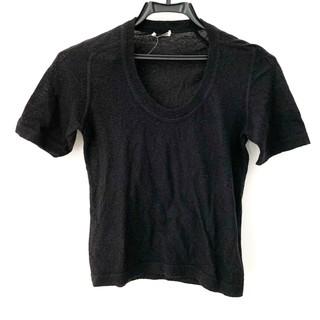 ミュウミュウ(miumiu)のミュウミュウ 半袖セーター サイズ38 S -(ニット/セーター)