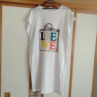 ロエベ(LOEWE)のLOEWE ロングTシャツ ロエベ(Tシャツ(半袖/袖なし))