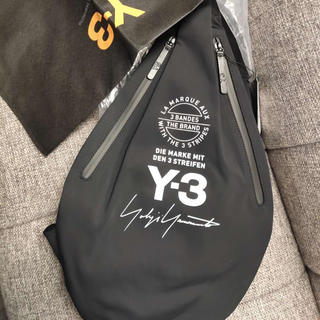 ワイスリー(Y-3)の【Y-3】ワイスリー ヨージ ウォッシャブル 黒 アディダス スポーツランニング(ショルダーバッグ)