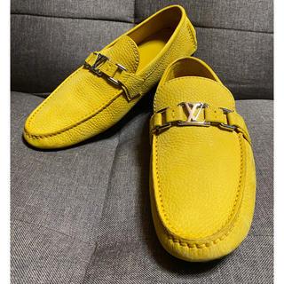 LOUIS VUITTON - ルイヴィトン  レザー ドライビングシューズ 靴 サイズ 7 ハーフ
