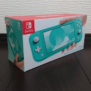 ニンテンドースイッチ(Nintendo Switch)のNintendo Switch Lite 本体 スイッチ ライト ターコイズ(家庭用ゲーム機本体)