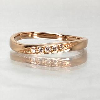 クミキョク(kumikyoku(組曲))の組曲 K18 PinkGold ダイアモンド指輪(リング(指輪))