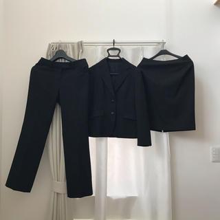 アオキ(AOKI)の【スーツ3点セット】 AOKI スーツ  LES MUES femme S M(スーツ)