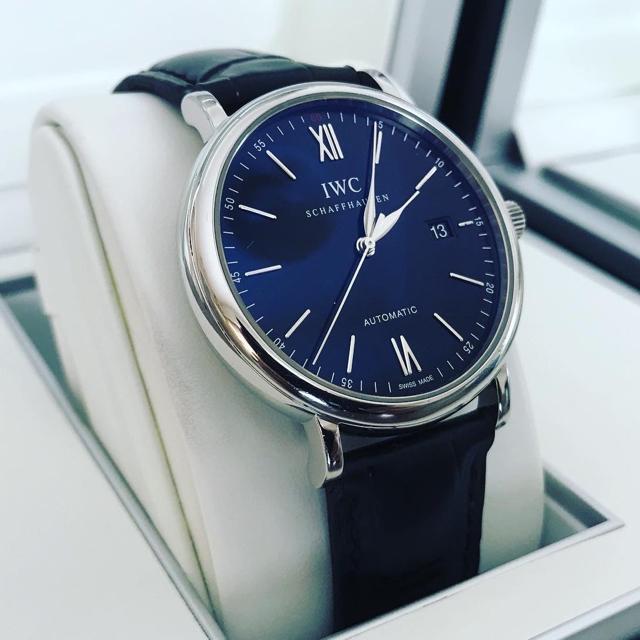 IWC(インターナショナルウォッチカンパニー)のIWC ポートフィノ IW356502 ブラック  メンズの時計(腕時計(アナログ))の商品写真