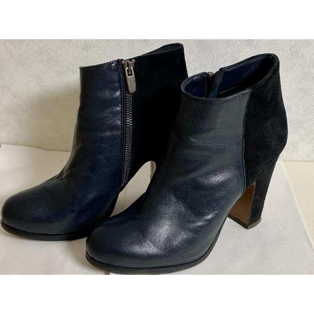 Edition(エディション)のエディション ショートブーツ 切替 レディースの靴/シューズ(ブーツ)の商品写真