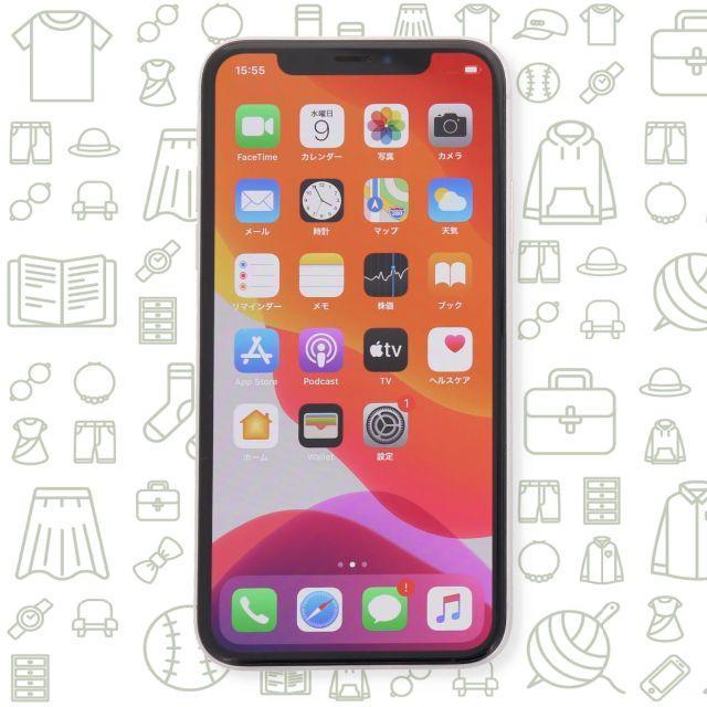 iPhone(アイフォーン)の【C】iPhoneX/256/SIMフリー スマホ/家電/カメラのスマートフォン/携帯電話(スマートフォン本体)の商品写真