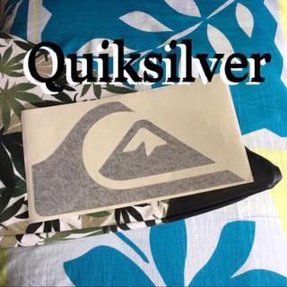 クイックシルバー(QUIKSILVER)のQUIKクイックUS限定型抜き BIGライダー icon ダイカット ステッカー(サーフィン)