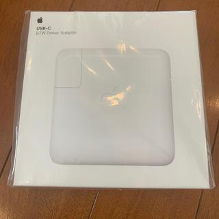 マック(Mac (Apple))のMNF82J/A 87W USB-C power adapter(PC周辺機器)
