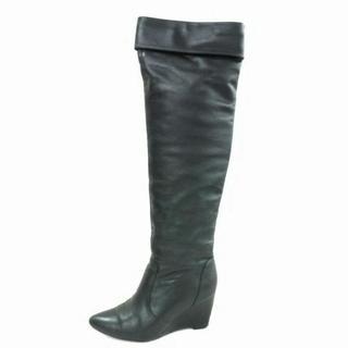ルシェルブルー(LE CIEL BLEU)のルシェルブルー ロングブーツ 37 1/2 黒(ブーツ)