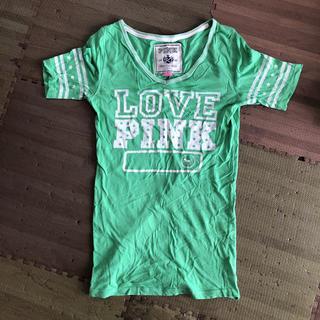 ヴィクトリアズシークレット(Victoria's Secret)のTシャツ ヴィクトリアシークレット 緑 サイズS(Tシャツ(半袖/袖なし))