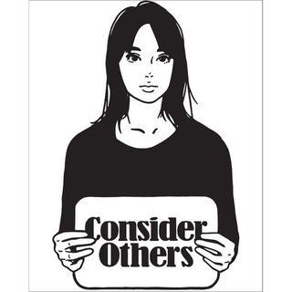 """Consider Others"" / KYNE(版画)"