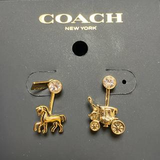 コーチ(COACH)のcoach ピアス ✨新品未使用✨(ピアス)