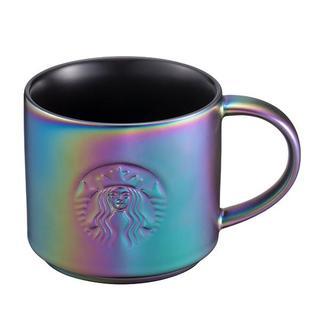 スターバックスコーヒー(Starbucks Coffee)のスターバックス :虹色 マグ ロゴ スタバ 台湾 限定商品(グラス/カップ)