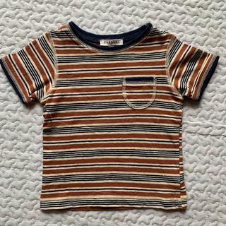 キャラメルベビー&チャイルド(Caramel baby&child )のcaramel baby&child ボーダーTシャツ(Tシャツ)