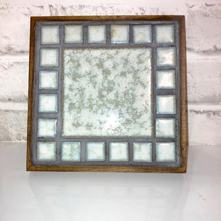 オリジナル タイル クラフト 鍋敷き インテリア 美濃焼(雑貨)